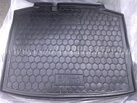 Коврик в багажник SKODA Rapid спейсбэк пластик+резина (AVTO-GUMM)