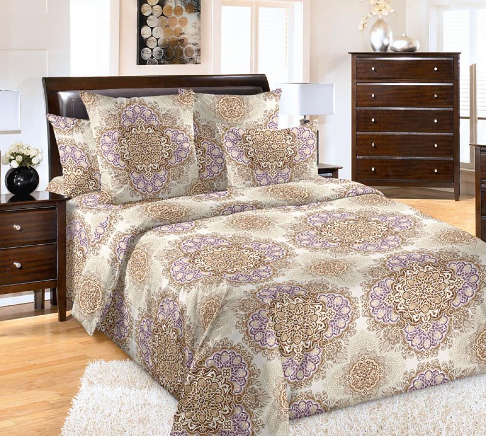 Постельное бельё  Арабески, перкаль  Семейный на резинке.Комплект постельного белья