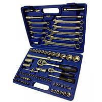 """Werker. Универсальный набор инструмента 1/4"""" & 1/2"""",  82 предм. (6 гран.)"""