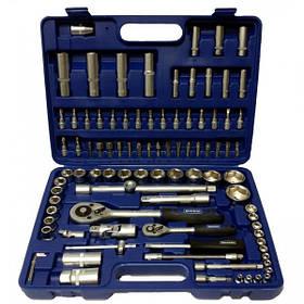 """Werker. Универсальный набор инструмента 1/4"""" & 1/2"""",  94 предм. (6 гран.)"""