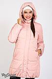 """Зимняя куртка для беременных """"Jena"""" OW-46.093, пудра, фото 2"""
