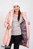 """Зимняя куртка для беременных """"Jena"""" OW-46.093, пудра, фото 4"""