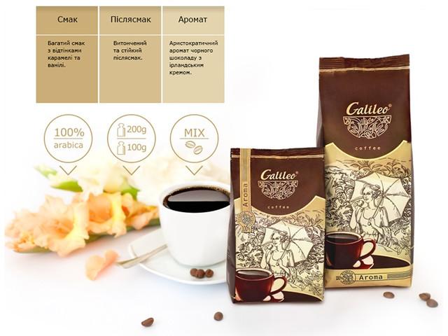 Кофе Галилео Арома фото
