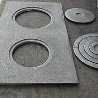 Чугунная плита усиленная 710×410мм