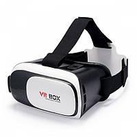 Очки 3D виртуальной реальности  VR BOX из пластика Cardboard от 3.5 до 6 дюймов