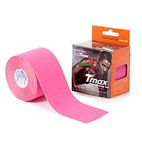 Кинезио тейп Tmax Tape 5см х 5м Розовый