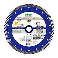 Алмазный диск Distar 1A1R Turbo 232 x 2,6 x 12 x 22,23 Super 7D (10115085018)