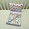 Набор в коляску одеяльце + подушка - 07, фото 2