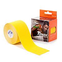 Кинезио тейп Tmax Tape 5см х 5м Желтый