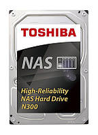 HDD SATA 6.0TB Toshiba N300 NAS 7200rpm 128MB (HDWN160UZSVA)