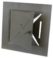 Дверка дымоходная черная к печи