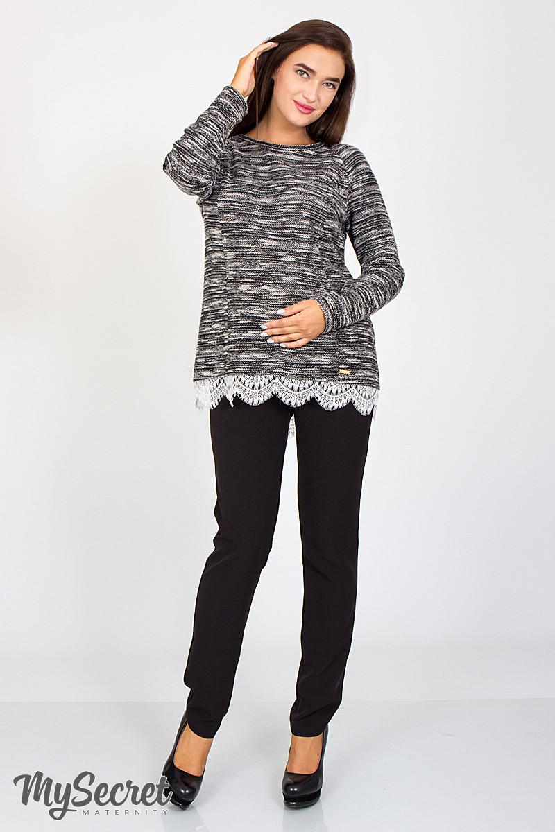 Зауженные брюки для беременных Avalon  TR-36.031, черные