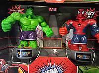 """Набор героев бокс """"Халк против Человека паука"""", 9879"""