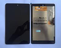 Дисплей для Asus ME370 Google Nexus 7 + touchscreen (1 поколение 2012), черный, (версия Wi-fi)