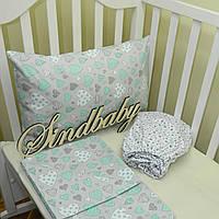 Комплект детского белья в кроватку 05