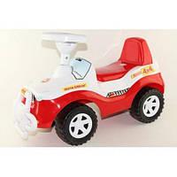 Машинка детская Каталка Джипик красный Орион 105 Ч
