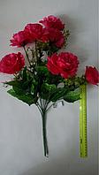 Искусственный букет- роза атласная
