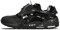 Мужские кроссовки Puma Disc Blaze Black (Пума Диск) черные