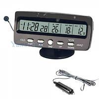 Авто часы VST 7045V с вольтметром