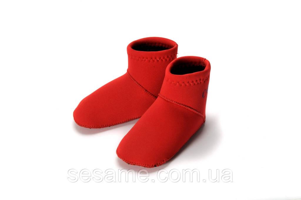 Носки для бассейна и пляжа Konfidence Paddlers, Red (NS06)