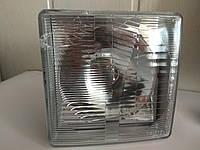Скидка!!! Фара МТЗ передняя квадратная с лампочкой в пластмасовом корпусе Н4 (пр-во Украина)
