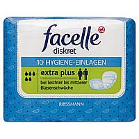 "Facelle diskret Hygiene Einlagen ""Extra Plus"" - Женские прокладки при заболеваниях мочевого пузыря"