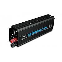 Преобразователь напряжения 12V-220V UKC 2000W Вт SSK