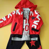 Спортивный костюм на флисе 98-116