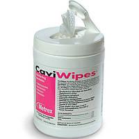 CaviWipes - серветки спиртові дезінфікуючі 160 шт з контейнером