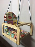 Детские деревянные подвесные качели М V-701-12 Vivast