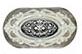 Декор Porcelanite Dos Ceramica 9504 Perla Hermitage Inserto 9Х17