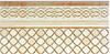 Фриз Porcelanite Dos Ceramica 9510 Afrodita Crema Zocalada 15 Х 30