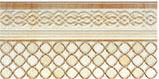 Фриз Porcelanite Dos Ceramica 9510 Afrodita Crema Zocalada 15 Х 30, фото 2