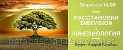 26 августа 14:00 Киев. Расстановки Enervision + Кинезиология