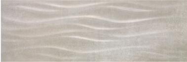 Плитка облицовочная Porcelanite Dos Ceramica 9506 Gris Relieve Rectificado 30Х90 В088, фото 2