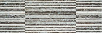 Плитка облицовочная Porcelanite Dos Ceramica 9507 Gris Relieve Rectificado 30Х90, фото 2