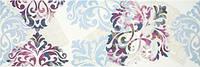 Декор Porcelanite Dos Ceramica 7500-7501 Purpura Provocative Decor 25 X 75 Р175