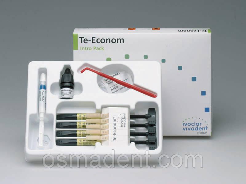 Te-Econom Plus Intro Pack 4*4+ бонд+ аксесуари - OSMADENT- онлайн магазин стоматологічних матеріалів з доставкою по Україні в Тернополе
