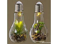 Светодиодная лампа с установкой стекло арт 1003978