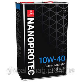 Полусинтетическое моторное маслоNANOPROTEC ENGINE OIL 10W-40 4л