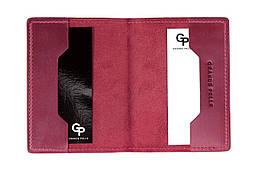 Обложка для паспорта Grande Pelle 252163 малиновая матовая