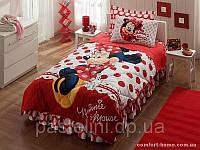 Одеяло Тас Minnie Mouse + постель 155х215 см p-34795