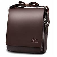 Коричневая мужская сумка через плечо Kangaroo Kingdom