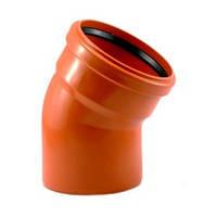 Колено канализационное 50х67 мм