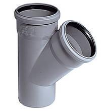 Тройник канализационный наружный 160х110х90 мм