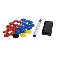 Набор аксессуаров для тактических досок Select  черн/желт/син