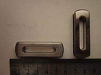 Люверс ОВАЛ на винтах 55 х 33 х 7 мм никель