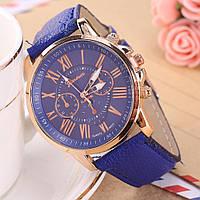 """Женские наручные часы """"GENEVA Style"""" синие"""