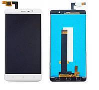 Дисплей Xiaomi Redmi Note 3, Redmi Note 3 Pro ксиоми с тачскрином в сборе, цвет белый