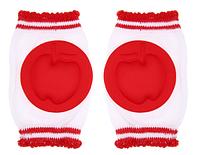 Наколенники для детей и малышей Красные яблоки